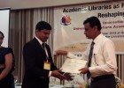 Dr.T.Pratheepan presented a paper at the 9th International Conference of University Librarians Association of Sri Lanka