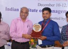 Best Research Paper award in Indian Institute of Management